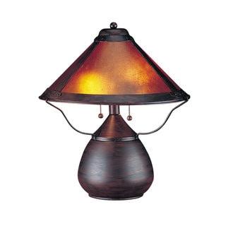 Mica Mission/ Shaker Orange 40-watt Table Lamp