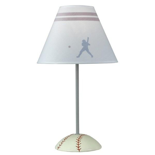 60-watt Resin Baseball Lamp