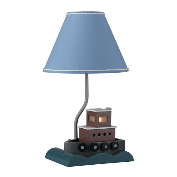 60-watt Fish Boat Lamp with Night Light
