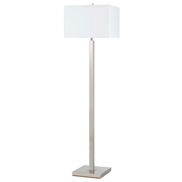 silver metal 100 watt floor lamp free shipping today. Black Bedroom Furniture Sets. Home Design Ideas