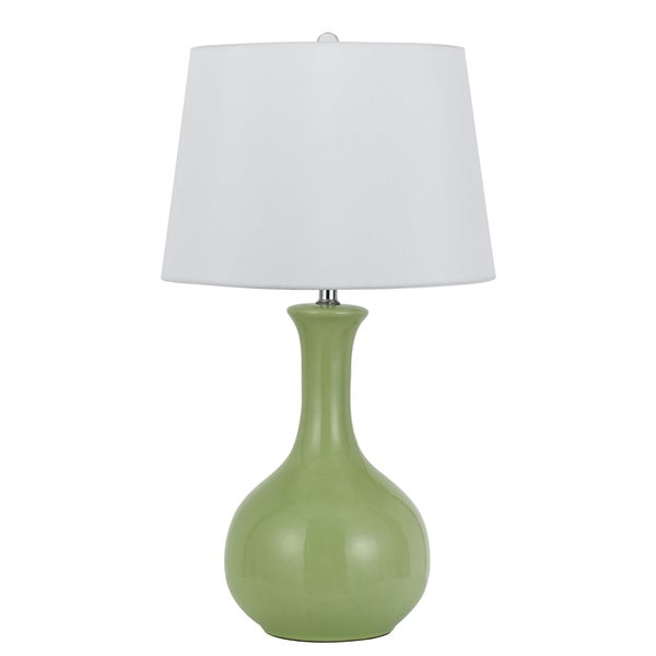 Almeria Green Ceramic Table Lamp