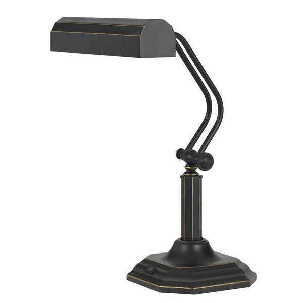 Bronze Metal 7-watt 3000-kilowatt LED Piano Lamp