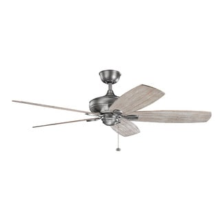 Kichler Lighting Ashbyrn Collection 60-inch Antique Pewter Ceiling Fan