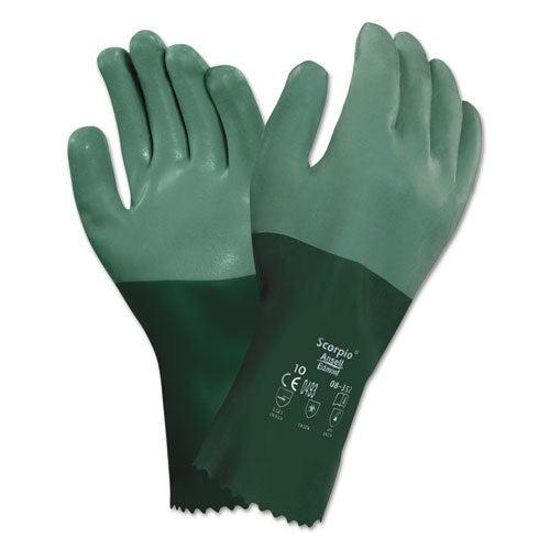 ANSELL Scorpio Neoprene-Coated Gloves, Size 9, 12 PR (Siz...
