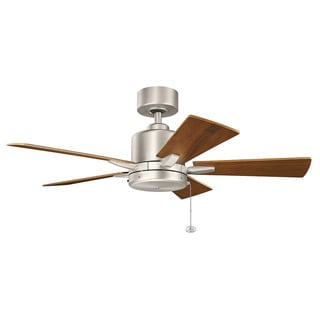 Kichler Lighting Bowen Collection 42-inch Brushed Nickel Ceiling Fan