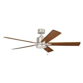 Kichler Lighting Bowen Collection 60-inch Brushed Nickel Ceiling Fan