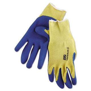 Honeywell Tuff-Coat II Gloves, Blue/White, X-Large, Pair