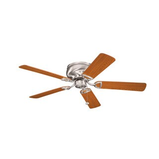 Kichler Lighting Stratmoor Collection 52-inch Brushed Stainless Steel Ceiling Fan - Brushed Stainless Steel