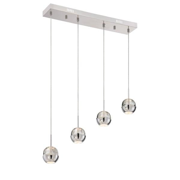 Lite Source 4-Light LED Draplin Pendant Lamp