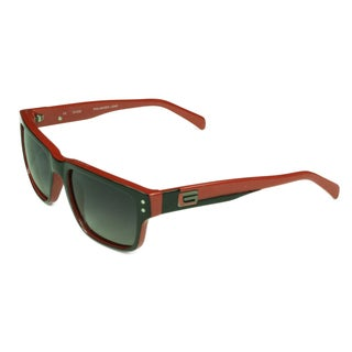Guess Wayferer Unisex Black/Red Plastic and Metal Sunglasses With Grey Lens