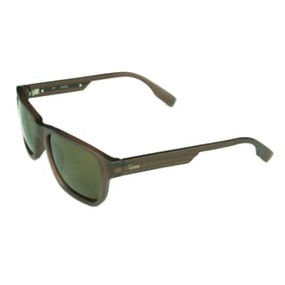 Guess Unisex Matte Brown Plastic/Acetate/Metal Sunglasses