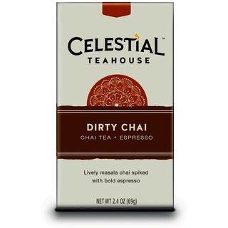 Celestial Seasonings Celestial Teahouse Dirty Chai, 20-count