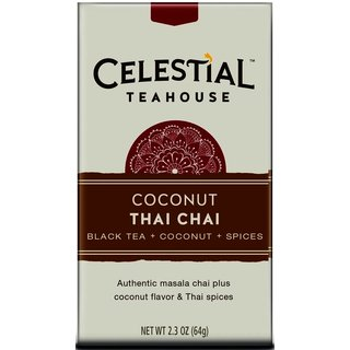 Celestial Seasonings Celestial Teahouse Coconut Thai Chai (20-count Box)
