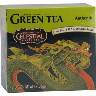 Celestial Seasonings Green Tea Bags (Case of 40)