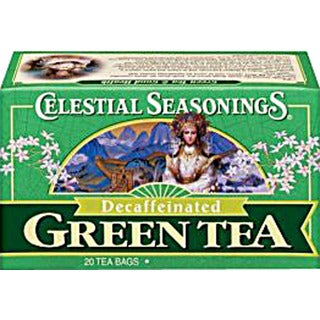 Celestial Seasonings Decaffeinated Green Tea bags (Case of 20)