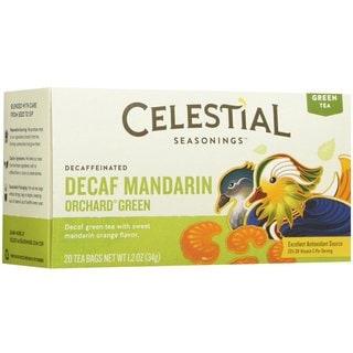Celestial Seasonings Decaf Mandarin Green Tea