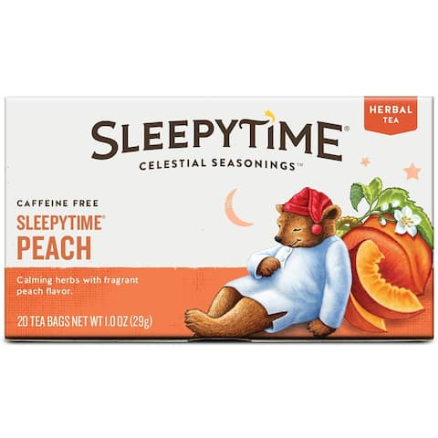 Celestial Seasonings Sleepytime Peach Tea Bag