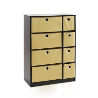Furinno Econ Storage Organizer Cabinet and Bins