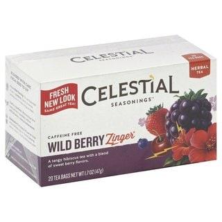 Celestial Seasonings Wild Berry Zinger Herbal Tea