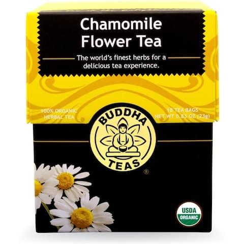 Buddha Teas Chamomile Tea Bags (Case of 18)