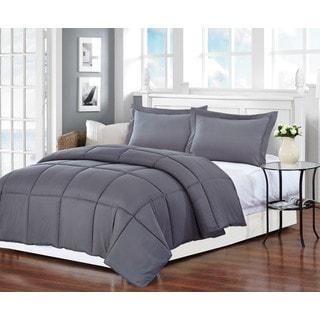 Grey All-season Down Alternative Comforter