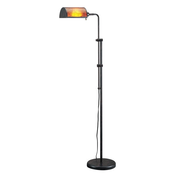 60-watt Pharmacy Floor Lamp with Mica Shade