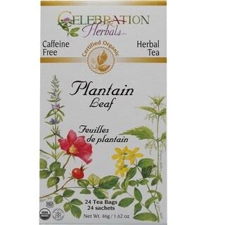 Celebration Herbals Plantain Leaf Organic Tea