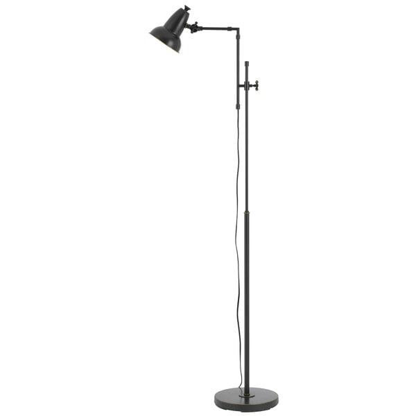 Hudson Oil-rubbed Bronze Metal 60-watt Adjustable Floor Lamp