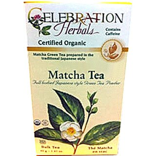 Celebration Herbals Organic Matcha Tea