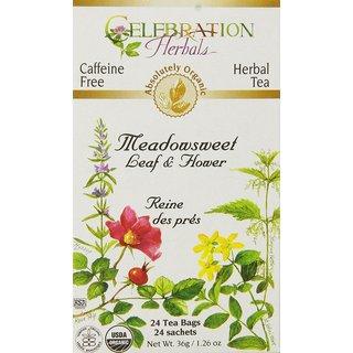 Celebration Herbals Meadowsweet Organic Tea Bags (Case of 24)