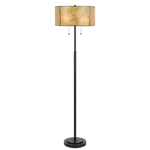 Mica Bronze Metal 2-light Floor Lamp