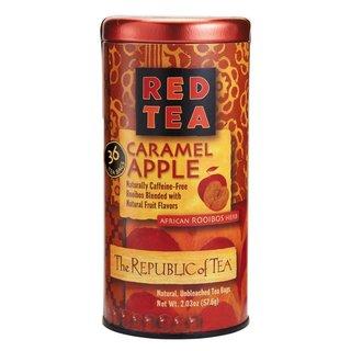 The Republic of Tea Red Tea Caramel Apple Tea Bags (Case of 36)