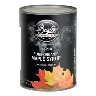 Bradley Smoker Pure Organic Maple Syrup