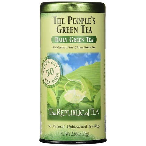 The Republic of Tea The People's Green Tea (50-count Canister)