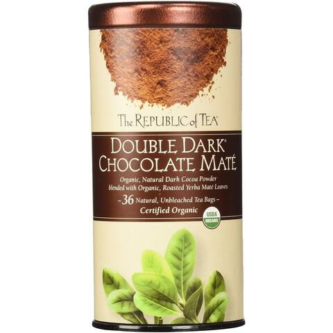 The Republic of Tea 36-count Double Dark Chocolate Mate