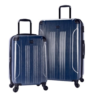 Travelers Club Leo 2-piece Hardside Spinner Luggage Set