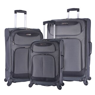 Travelers Club Naples 3-piece Expandable Spinner Luggage Set