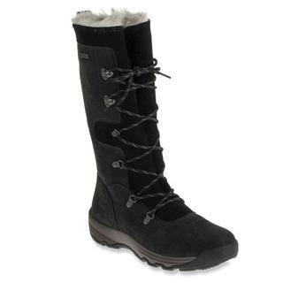 Cat by Caterpillar Women's Delvin Black Faux-fur Waterproof Boots