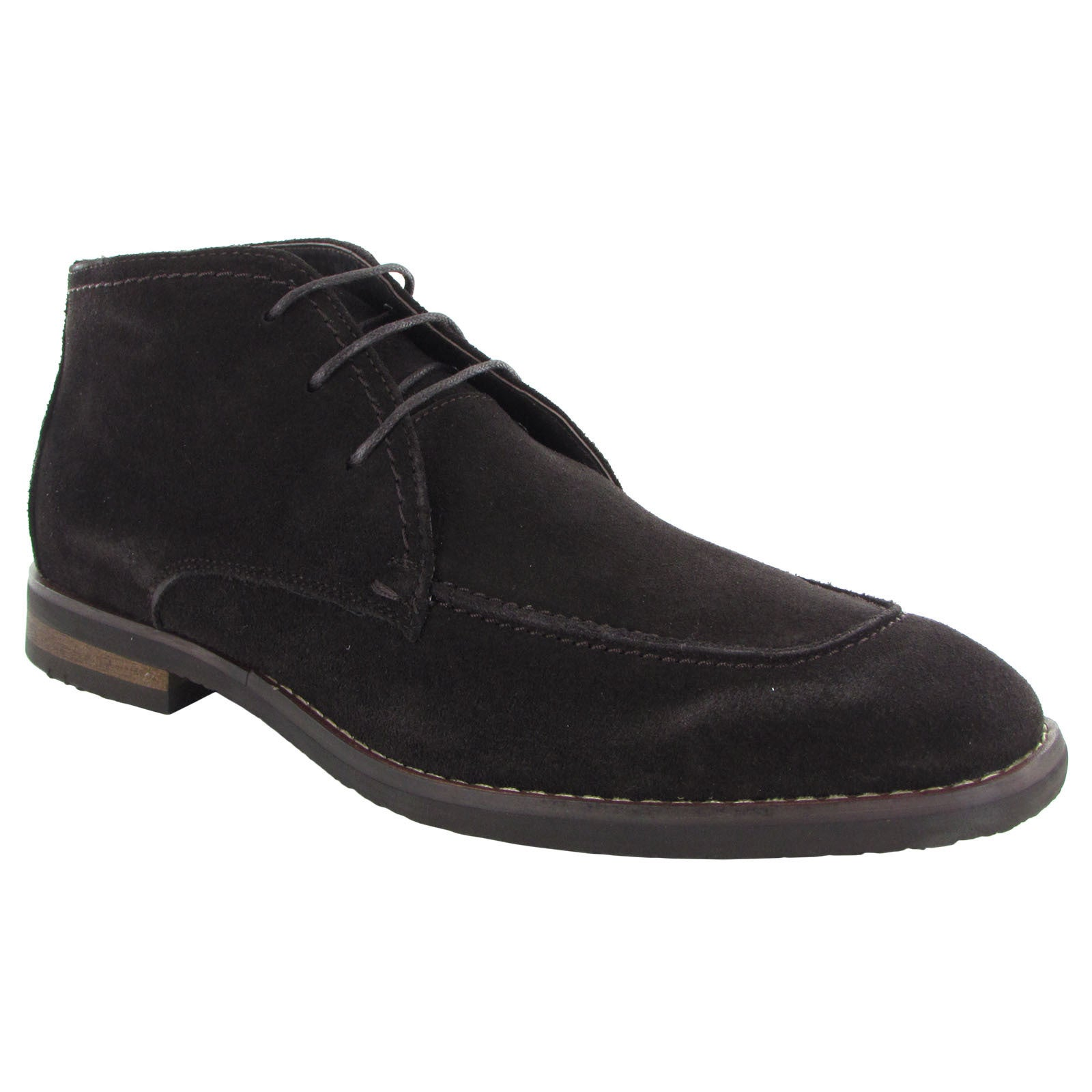 High Quality Robert Wayne Tatum Suede Chukka Boot Mens Black Robert Wayne Mens Boots
