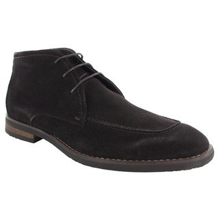Robert Wayne Mens Tatum Lace Up Chukka Boots