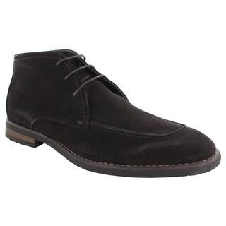 Robert Wayne Mens Tatum Lace Up Chukka Boots