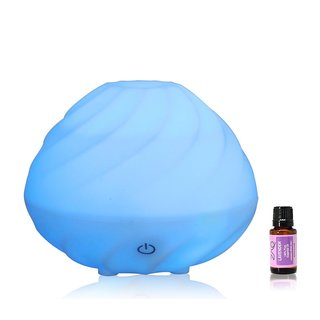 ZAQ Swirl Aromatherapy Essential Oil Diffuser plus Free 10ml Lavender Essential Oil