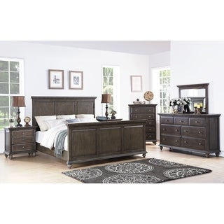 Abbyson Marseilles City Grey 6-piece Bedroom Set