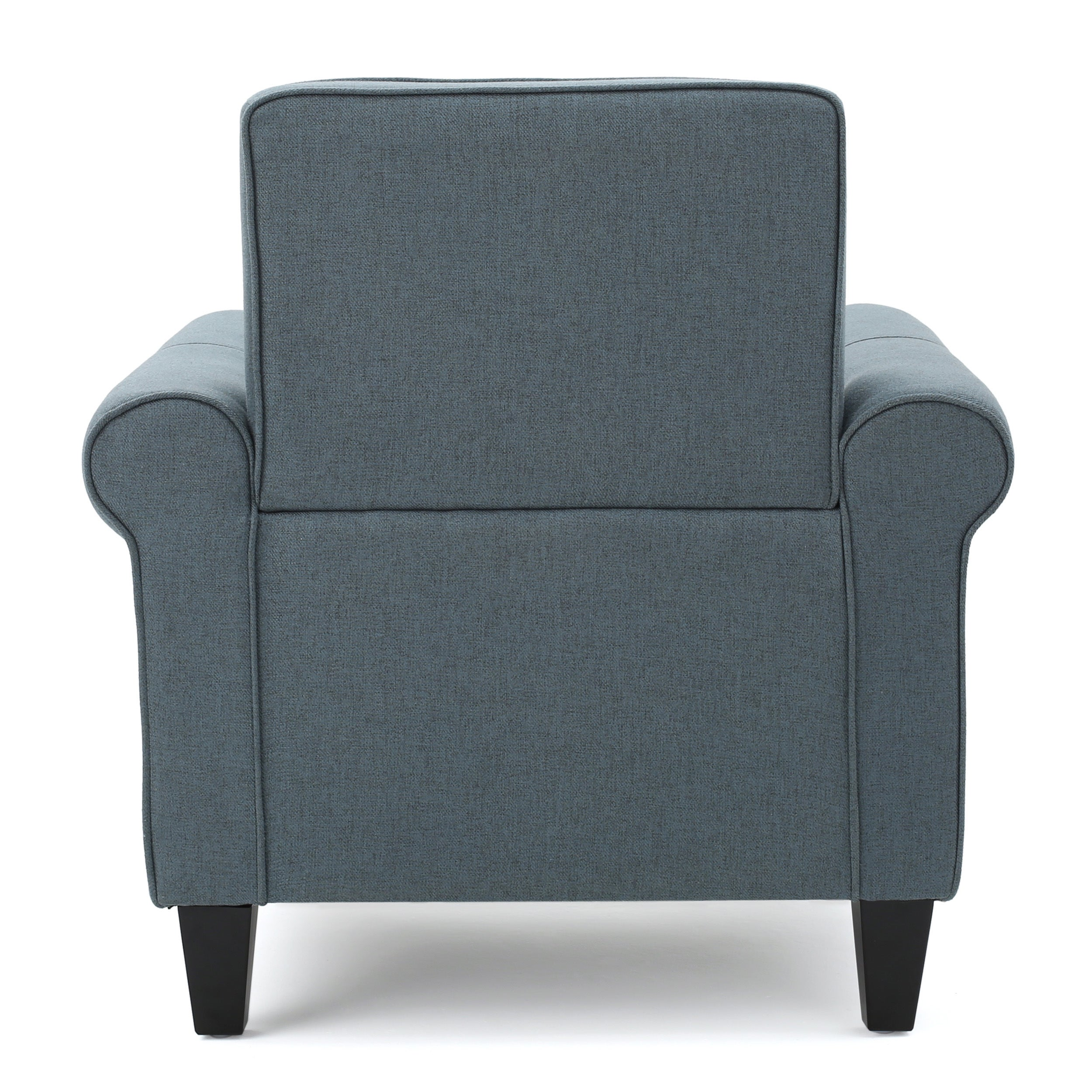 Isaac Tufted Fabric Club Chair By Christopher Knight