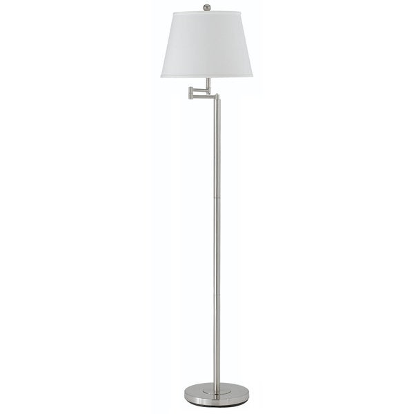 Andros 150 watt 3 way metal swing arm floor lamp free for 3 way 150 watt floor lamp