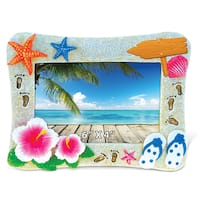 Tropical Summer Photo 4-inch x 6-inch Nautical Picture Frame