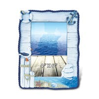 Puzzled 6-inch x 4-inch Maritime Ocean Scene Photo Frame