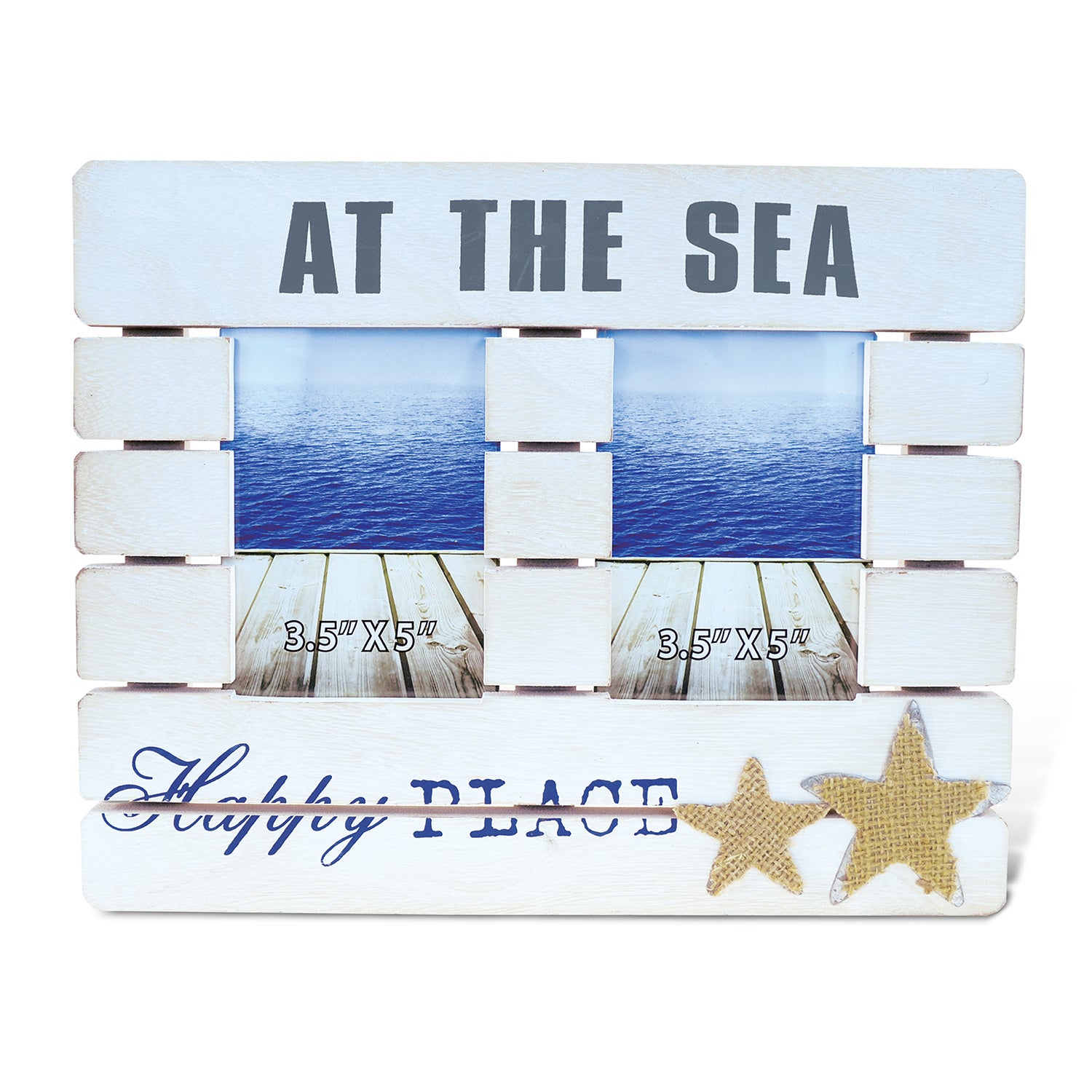 Puzzled Dream At The Sea' 3.5-inch x 5-inch Nautical Phot...