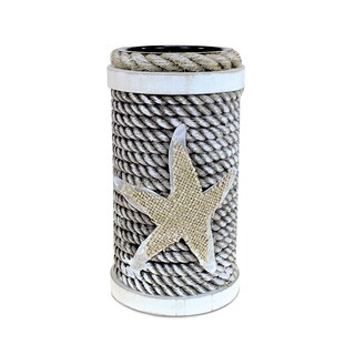 Puzzled Dream Nautical Decor Large Handcrafted Wooden Rope Candle Holder