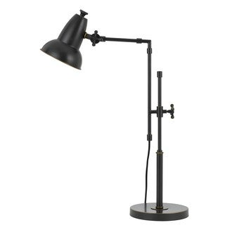 Hudson Oil-rubbed Bronze Metal 60-watt Adjustable Desk Lamp